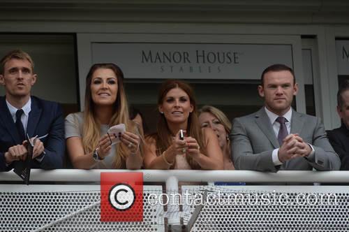 Wayne Rooney, Coleen Rooney, Darren Fletcher and Hayley Grice 9