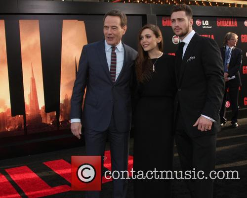 Bryan Cranston, Elizabeth Olsen and Aaron Taylor-Johnson 1