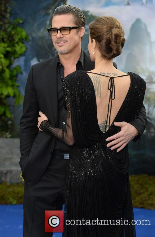 Angelina Jolie and Brad Pitt 11