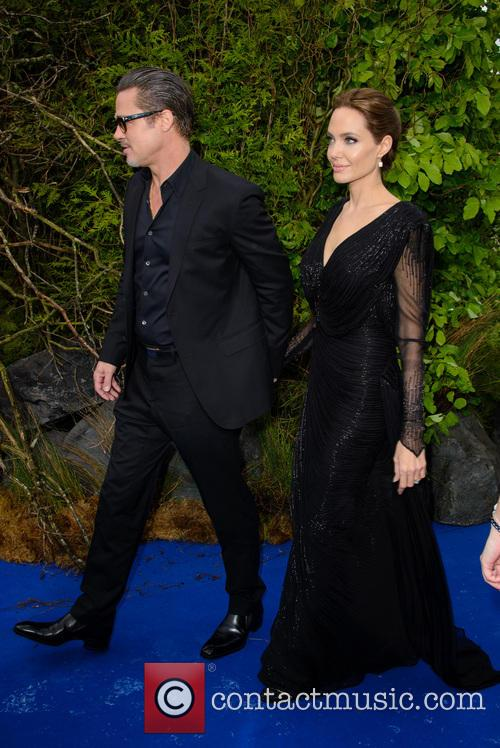 Brad Pitt and Angelina Jolie 9