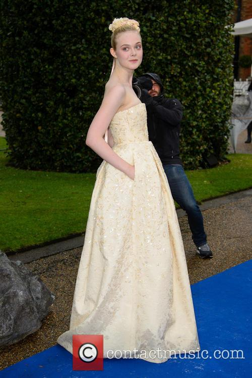elle fanning maleficent private reception 4185595