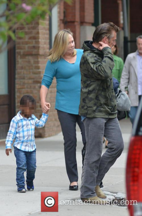 Sean Penn and Jackson Theron 4