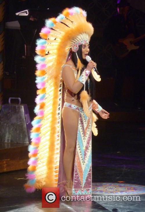Cher performs live