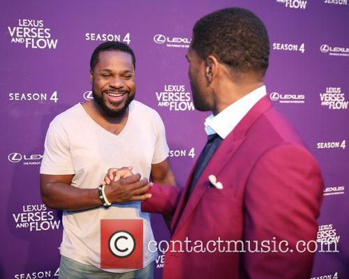 Malcolm Jamal Warner and Maxwell 1