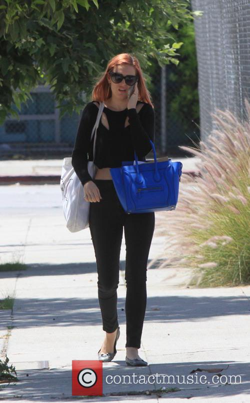 Rumer Willis spotted out in West Hollywood