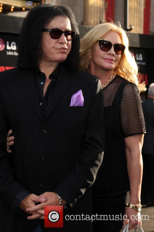 Gene Simmons and Shannon Tweed Simmons 2