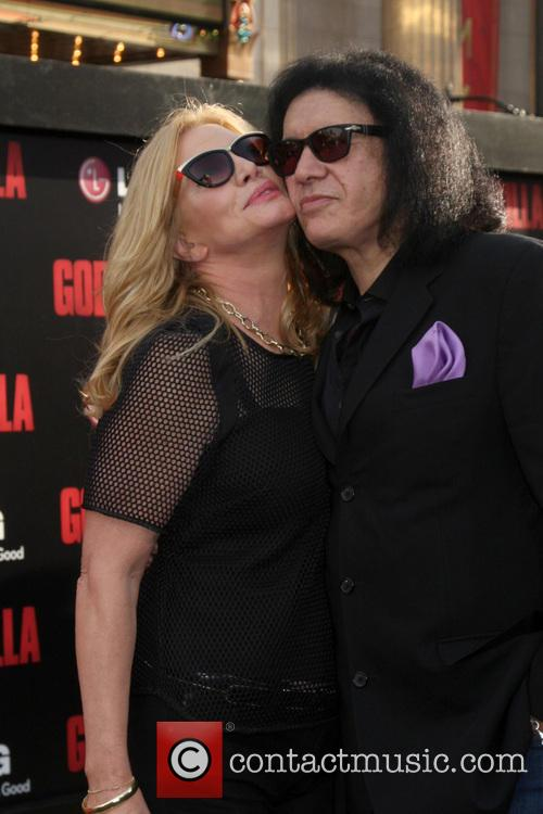 Gene Simmons and Shannon Tweed Simmons 1