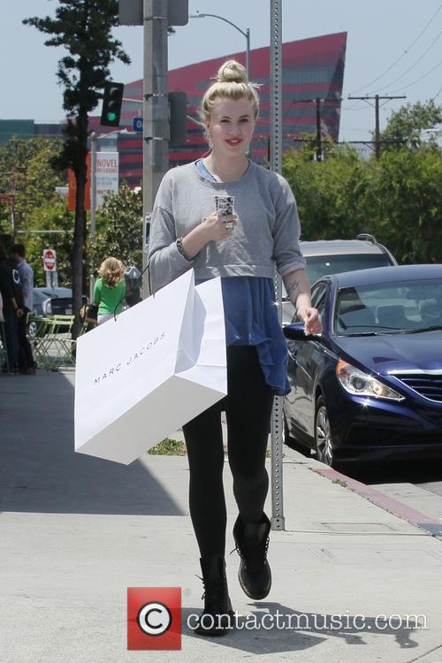 Ireland Baldwin out shopping with a friend