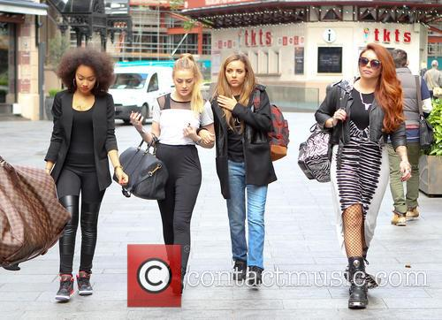 Leigh-ann Pinnock, Perrie Edwards and Jesy Nelson 3