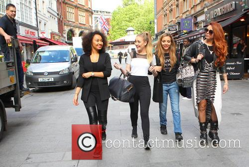 Leigh-ann Pinnock, Perrie Edwards and Jesy Nelson 7