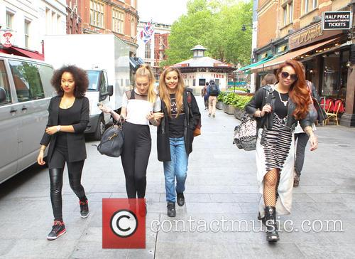 Leigh-ann Pinnock, Perrie Edwards and Jesy Nelson 8