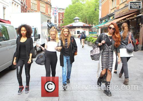 Leigh-ann Pinnock, Perrie Edwards and Jesy Nelson 9