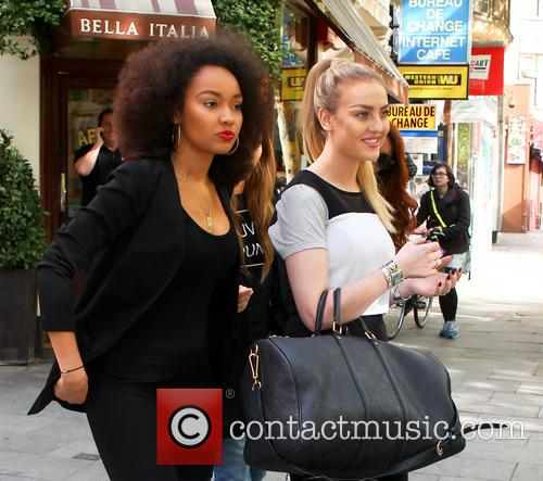 Leigh-ann Pinnock and Perrie Edwards 4