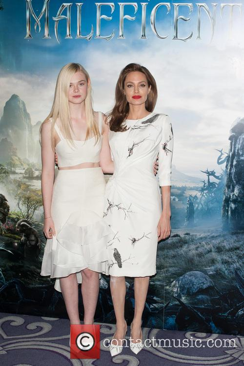 Angelina Jolie and Elle Fanning 2