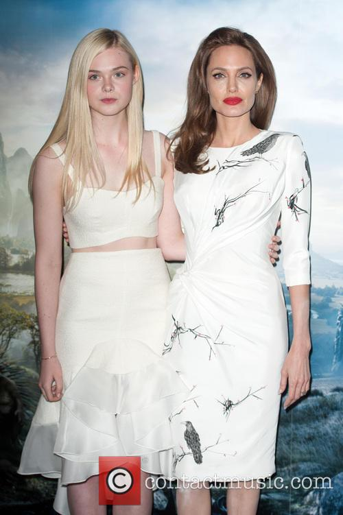 Angelina Jolie and Elle Fanning 5