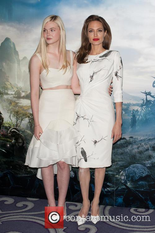 Angelina Jolie and Elle Fanning 9