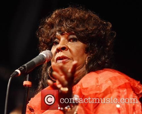 Martha Reeves and the Vandellas performing live