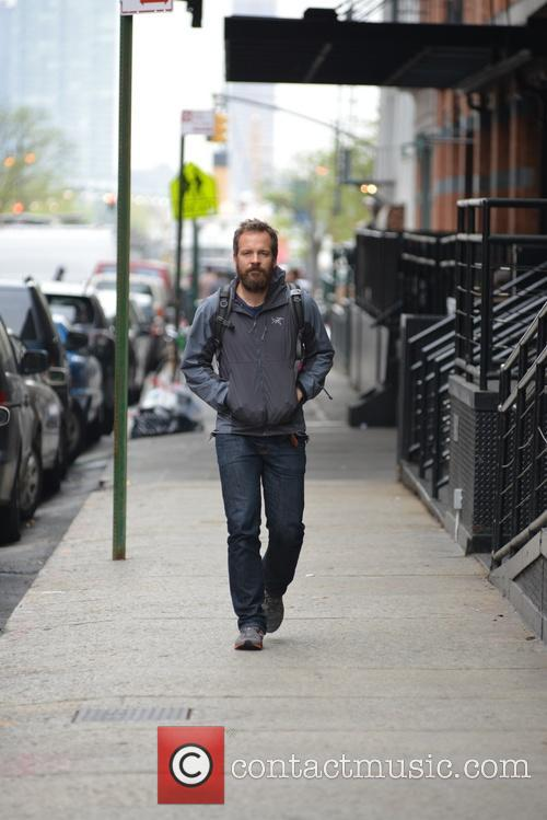 Peter Sarsgaard out and about