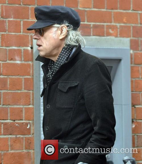 Bob Geldof out in Dublin