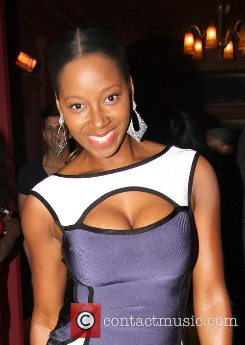 Jamelia celebrates belated birthday at Steam and Rye...