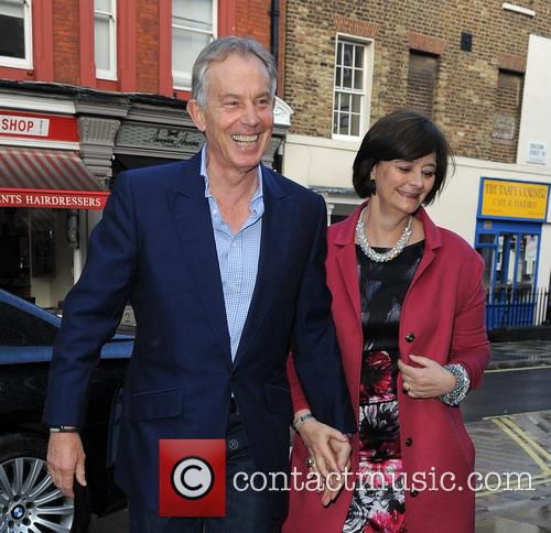 Tony Blair and Cherie Blair 1
