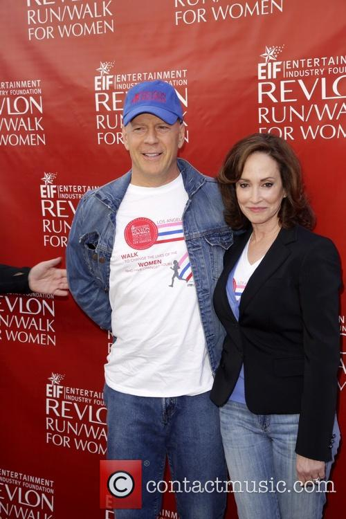 Bruce Willis and Lily Tartikoff 2