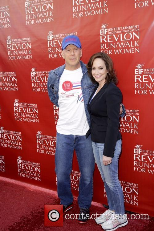 Bruce Willis and Lily Tartikoff 7