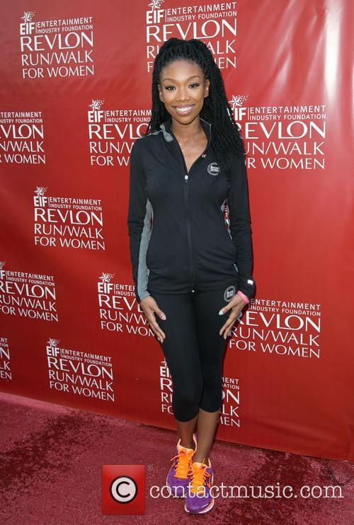 brandy brandy norwood 21st annual eif revlon run 4188623