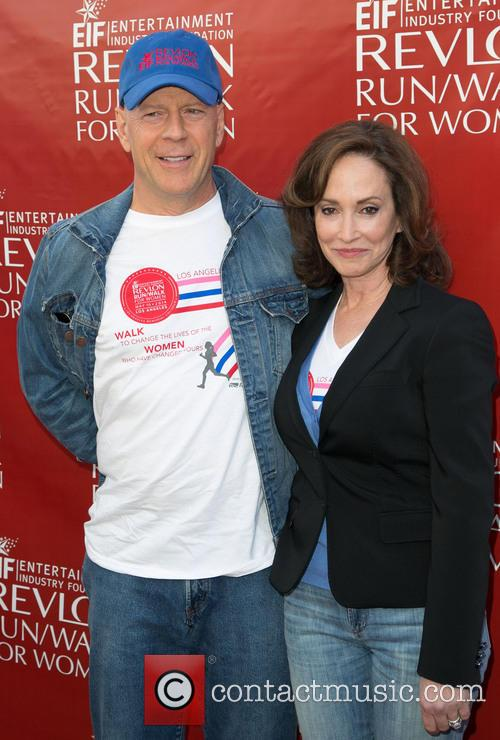 Bruce Willis and Lily Tartikoff 11