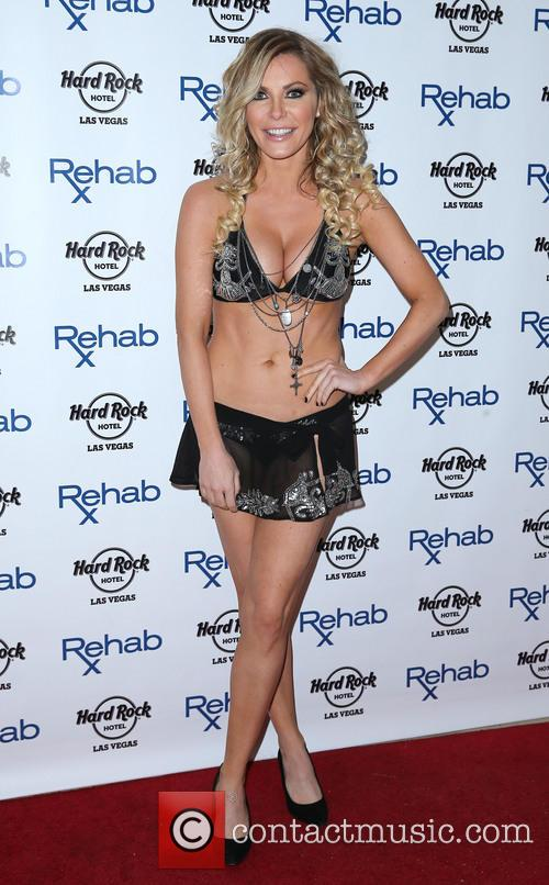 Crystal Hefner, REHAB Pool