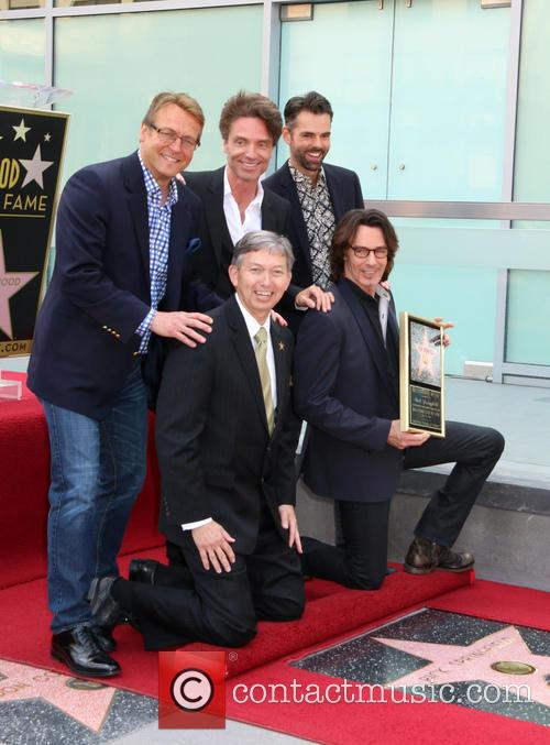 Doug Davidson, Richard Marx, Jason Thompson, Leron Gruber and Rick Springfield 4