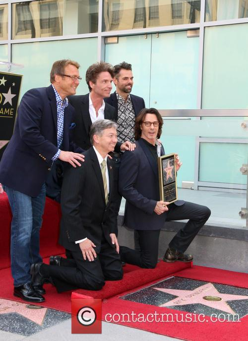Doug Davidson, Richard Marx, Jason Thompson, Leron Gruber and Rick Springfield 8
