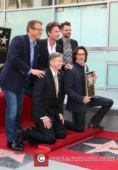 Doug Davidson, Richard Marx, Jason Thompson, Leron Gruber and Rick Springfield 5