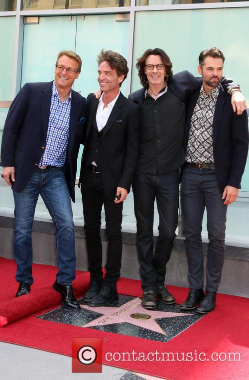 Doug Davidson, Richard Marx, Jason Thompson and Rick Springfield 3