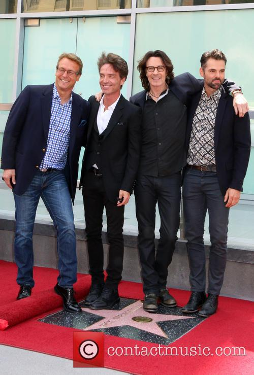 Doug Davidson, Richard Marx, Jason Thompson and Rick Springfield 5