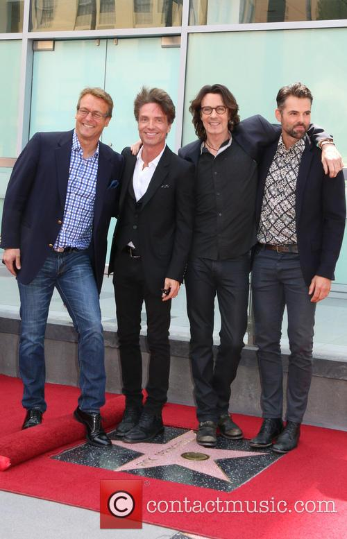 Doug Davidson, Richard Marx, Jason Thompson and Rick Springfield 6