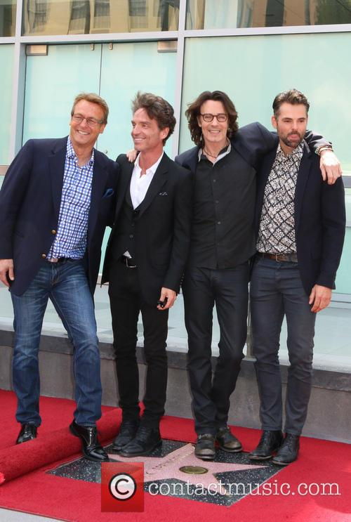 Doug Davidson, Richard Marx, Jason Thompson and Rick Springfield 7