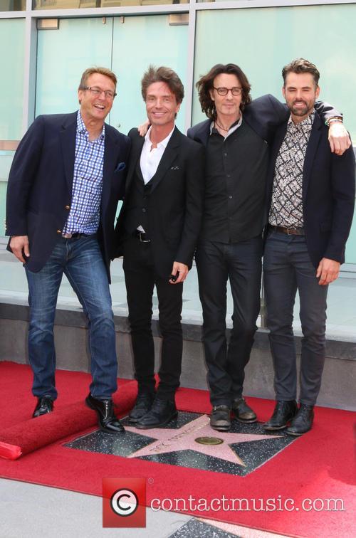 Doug Davidson, Richard Marx, Jason Thompson and Rick Springfield 7