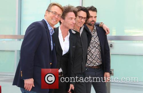 Doug Davidson, Richard Marx, Jason Thompson and Rick Springfield 1