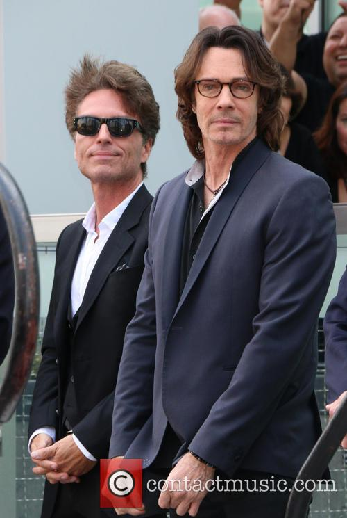 Rick Springfield Honored With Star On The Hollywood...