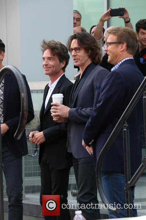 Richard Marx, Rick Springfield, On Hollywood Blvd, Walk Of Fame