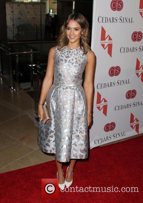 Jessica Alba, The Beverly Hilton Hotel