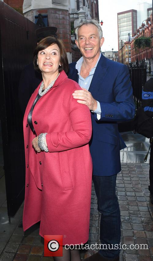 Tony Blair and Cherie Blair 3