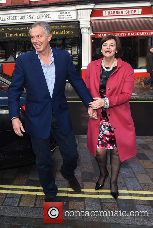 Tony Blair and Cherie Blair 4