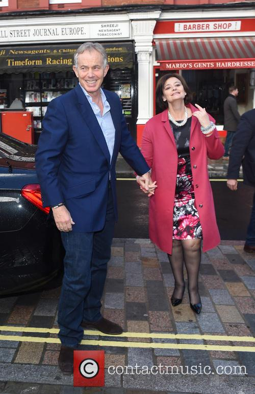Tony Blair and Cherie Blair 6
