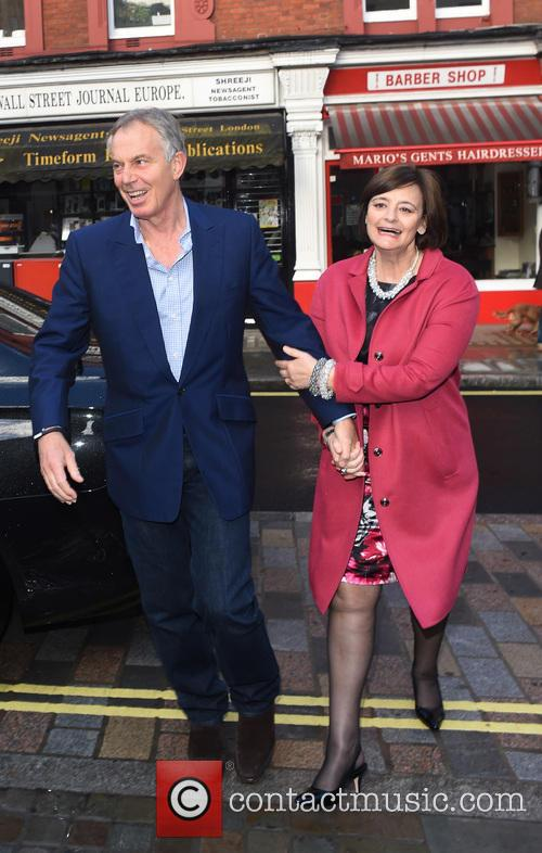 Tony Blair and Cherie Blair 9