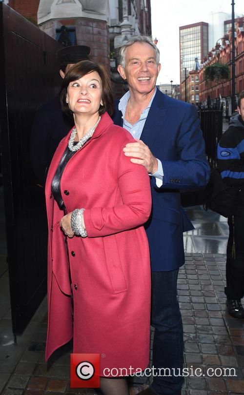 Tony Blair and Cherie Blair 11