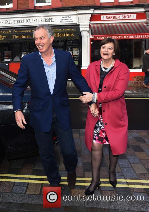 Tony Blair and Cherie Blair 13