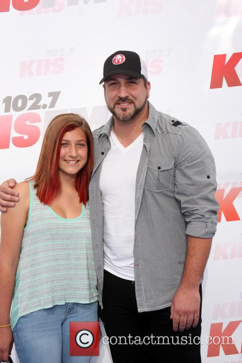 Joey Fatone and Briahna Joely Fatone 9