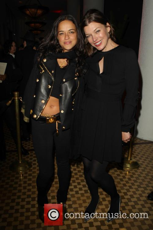 Michelle Rodriguez and Milla Jovovich 7